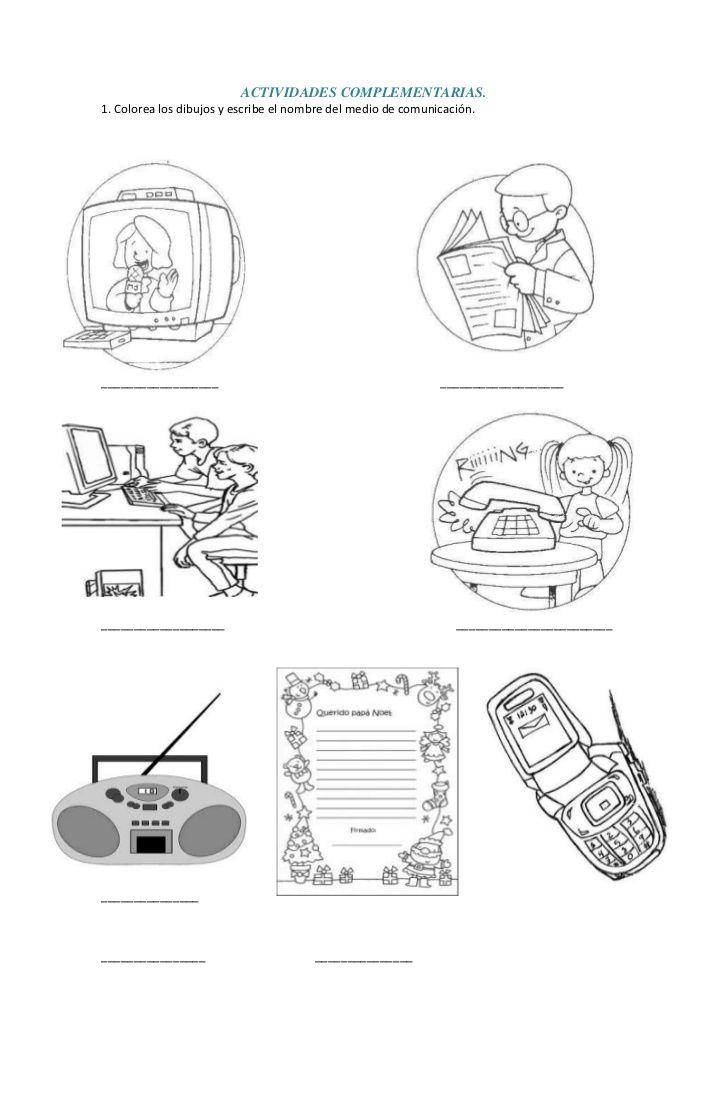 dibujos productos tecnologico y no tecnologicos para colorear ...