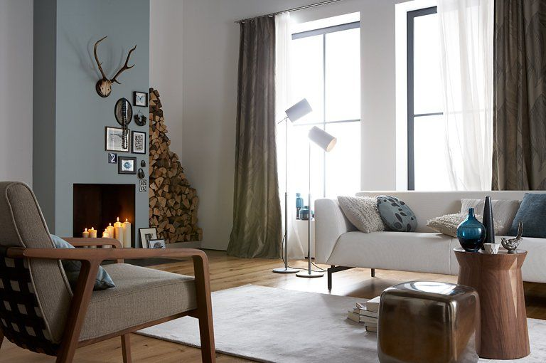 farbkombis mit schÖner wohnen-farbe: ethno-stil: kitt, senfgelb ... - Schöner Wohnen Farben Wohnzimmer