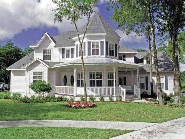 Victorian Queen Anne Style 3   Victorian house plans ...