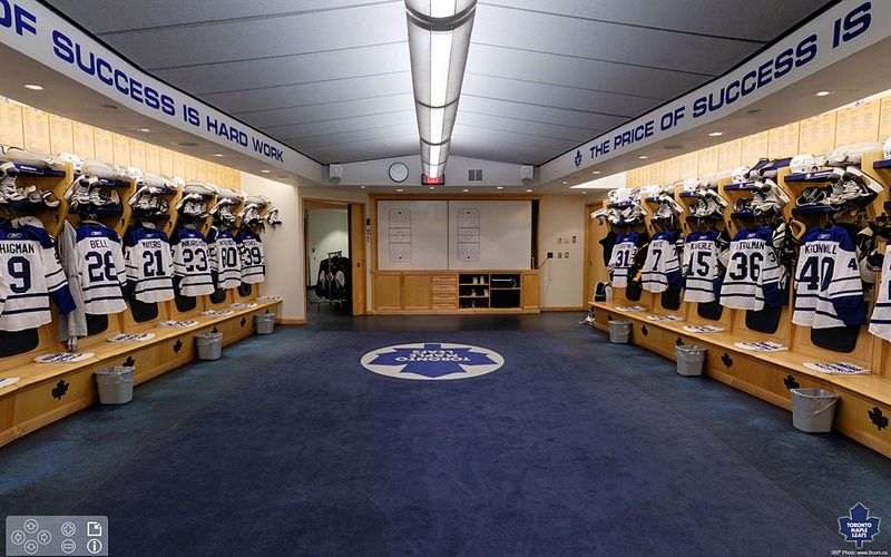 Toronto Maple leafs locker room | LightningShout. A Bloguin Network blog. | Toronto maple leafs ...