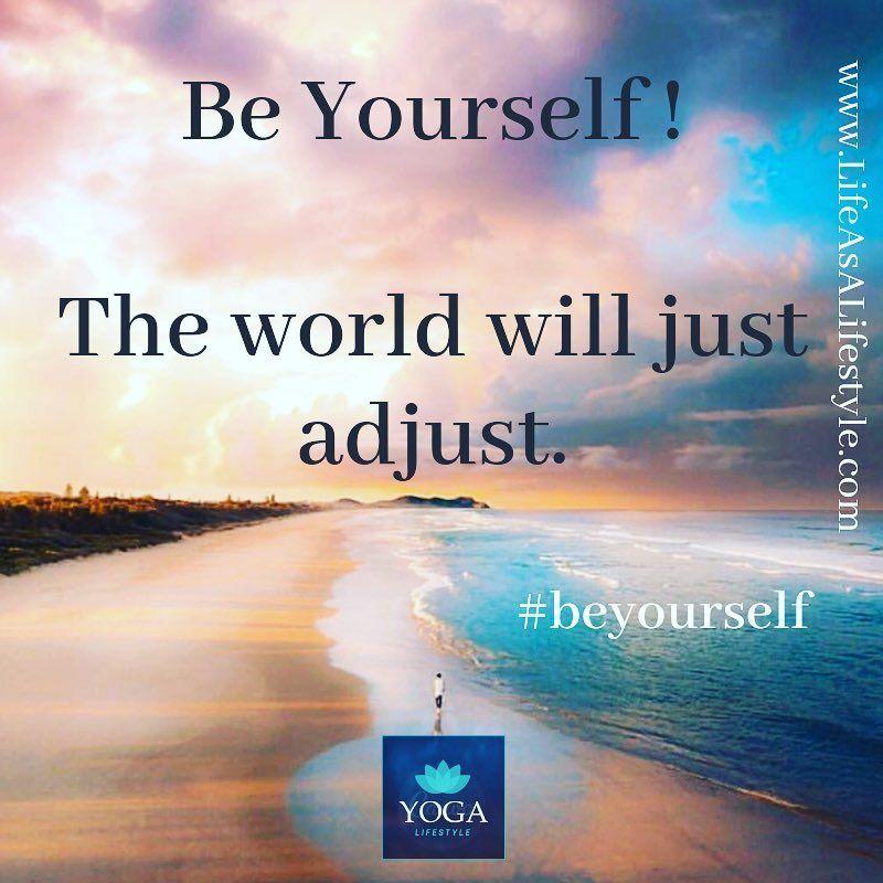 Yoga Quotes Beyourself Goodmorning Yogalifestyle Yogainspiration Mindsetmatters Lifequotes Yogateacher B Morning Yoga Quotes Yoga Quotes Morning Yoga