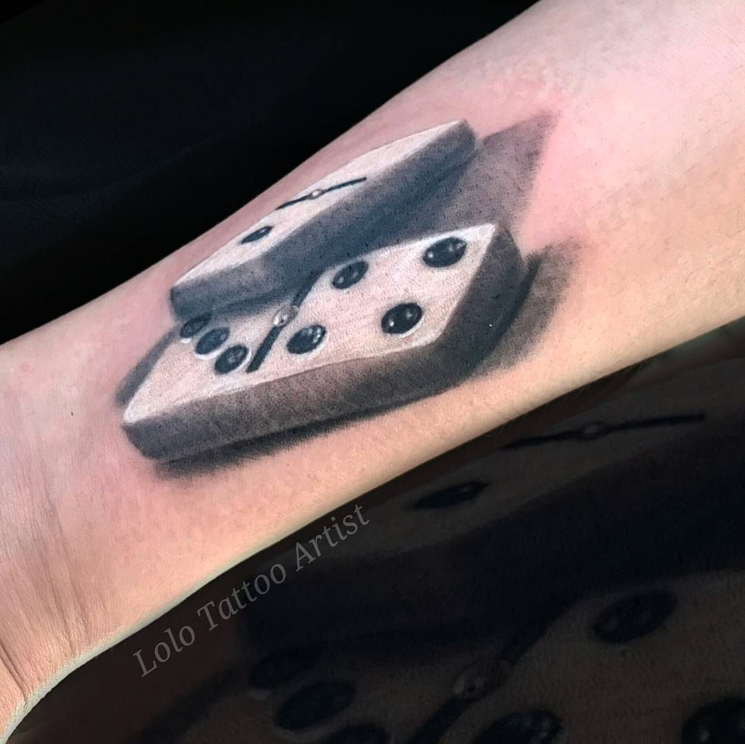 domino tattoo para tizol todo un placer sponsors noinknoparty nuclearwhiteink balm tattoo. Black Bedroom Furniture Sets. Home Design Ideas