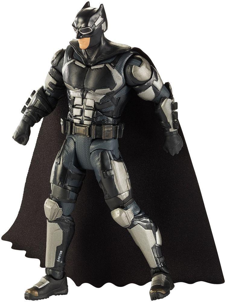 6 Dc Comics Multiverse Justice League Movie Batman Tact Suit Figures Toys Kit Batman Figures Batman Justice League
