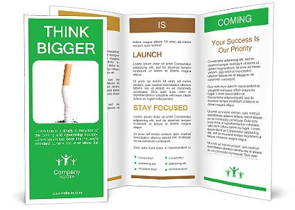 Brochure Template Tips To Help Quit Smoking - Asthma brochure template