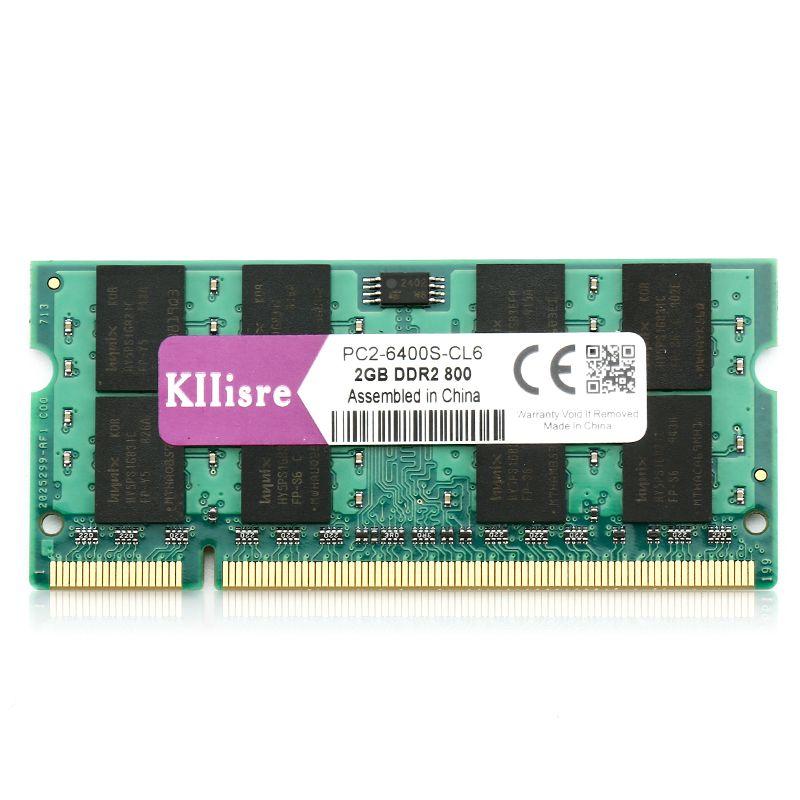 Kllisre ddr2 sodimm 2GB ram 800 667 MHz notebook memory DIMM