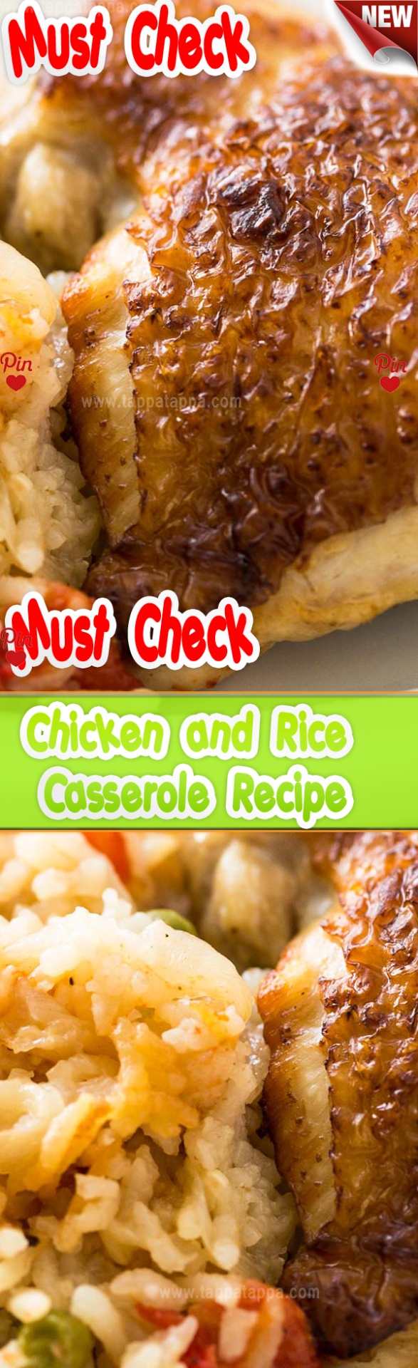 Crock Pot Chicken and Rice Casserole Recipe . INGREDIENTS 2 pounds bone-in skin-on chicken thighs (or 1  pounds boneless skin-on chicken thighs) Kosher salt 2 tablespoons extra virgin olive oil 4 cups sliced yellow onion -inch thick slices sliced root to tip (about 2 large onions) 1 teaspoon ground cumin  teaspoon ground cinnamon 4 teaspoons finely chopped garlic (about 4 cloves) 2 cups raw basmati long grain rice 1 cup diced canned (or fresh) tomatoes  cup frozen peas (optional) 1  cups chicken #spanishmeals