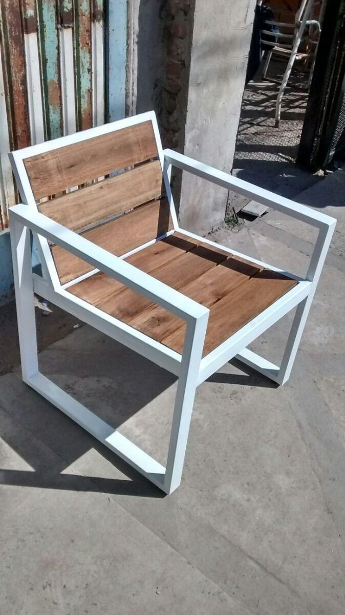 diy metal furniture. Sillon Madera Hierro - Buscar Con Google | Chaises Pinterest Metals, Metal Furniture And Industrial Diy E