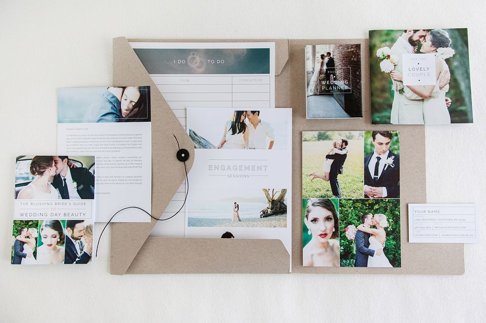 Explore Photography Marketing And More Wedding Welcome Packet