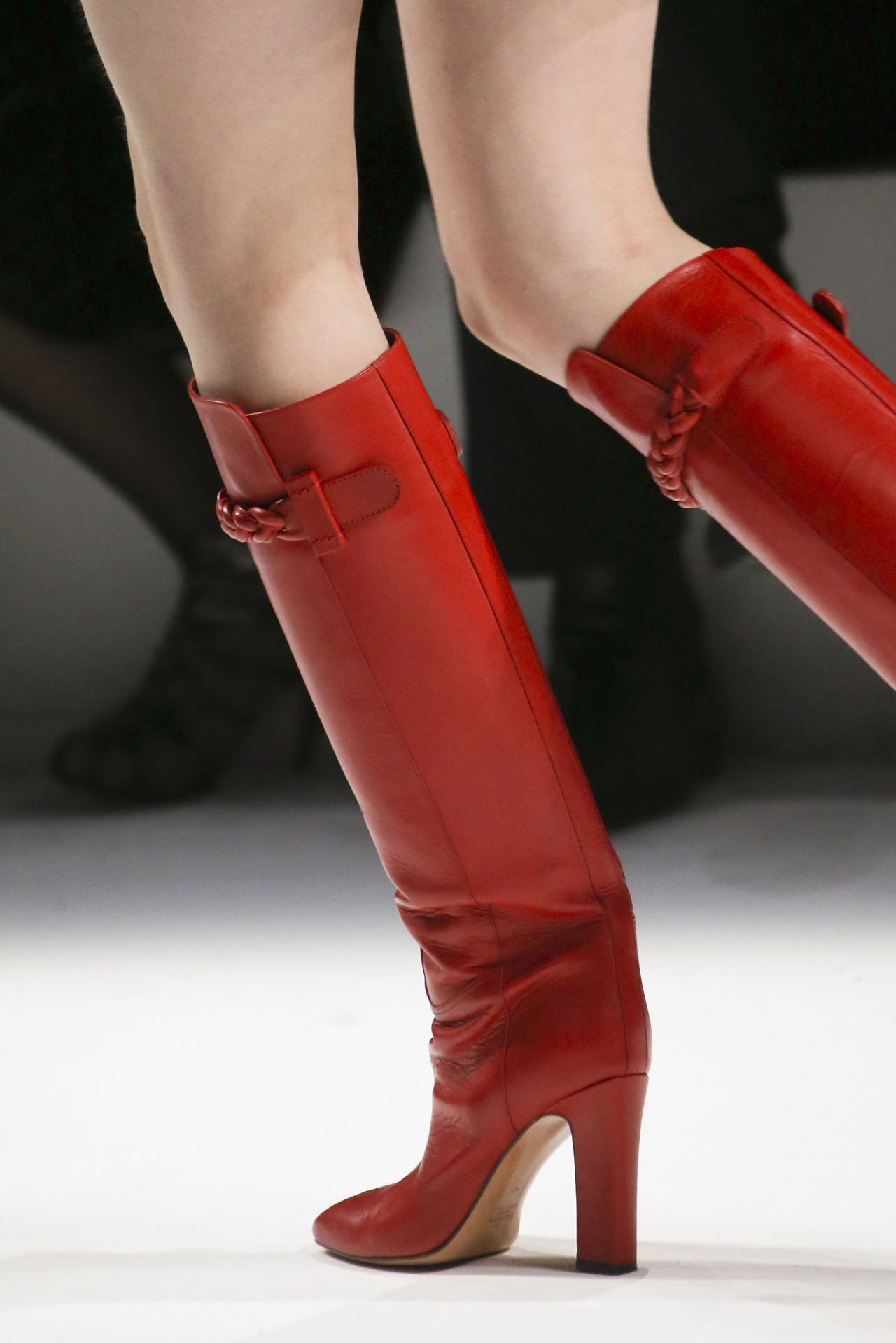 Boots, Valentino boots, Red boots