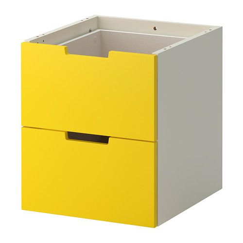 NORDLI Schubladenelement/2 Schubl. IKEA Kann nach Wunsch und Gegebenheiten einzeln eingesetzt oder mit mehreren kombiniert werden.