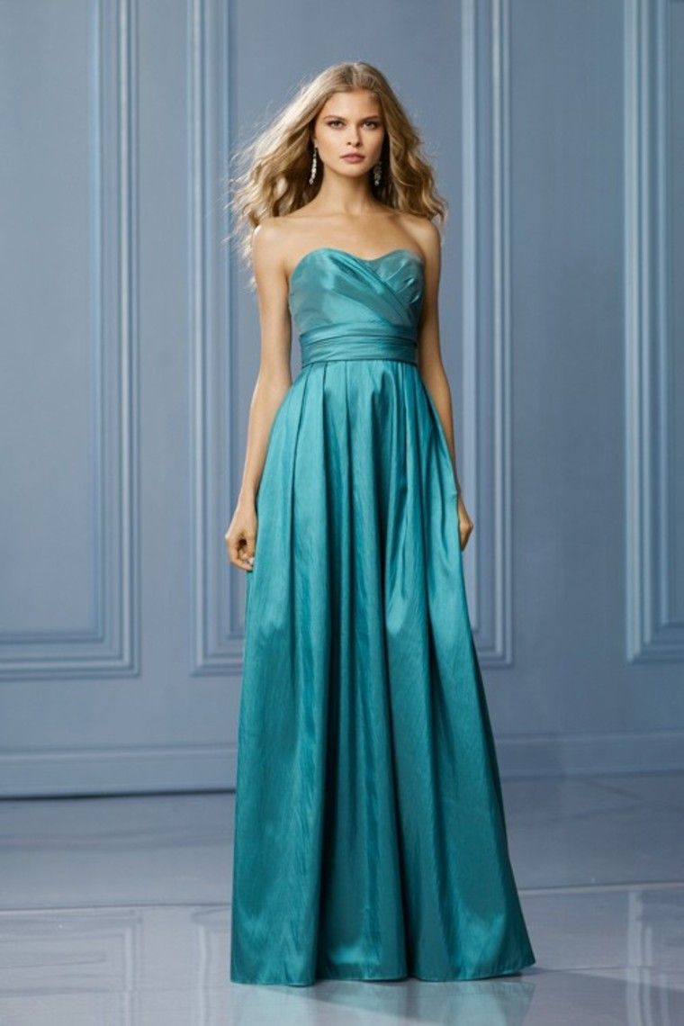 Sweetheart Floor Length Ruched Bodice A Line Dresses Taffeta | PROM ...