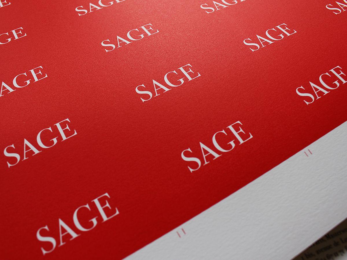 Sage Galerie Paris Cartes De Visite En Serigraphie Par Le Graphiste Simon Jacques Dara
