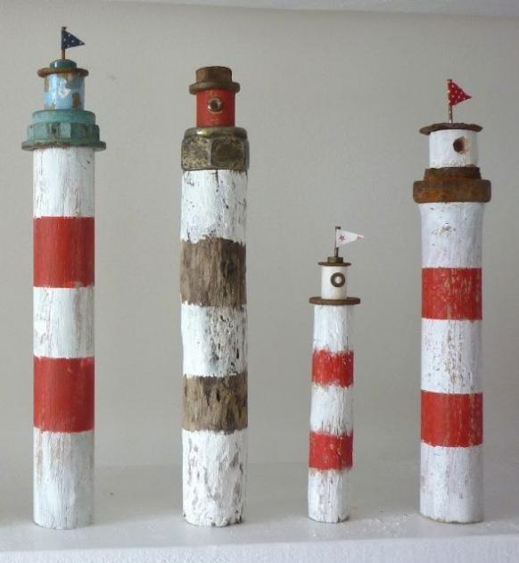 -tiny lighthouses #gartenkunstmodern #lighthouses #hiking #hiking