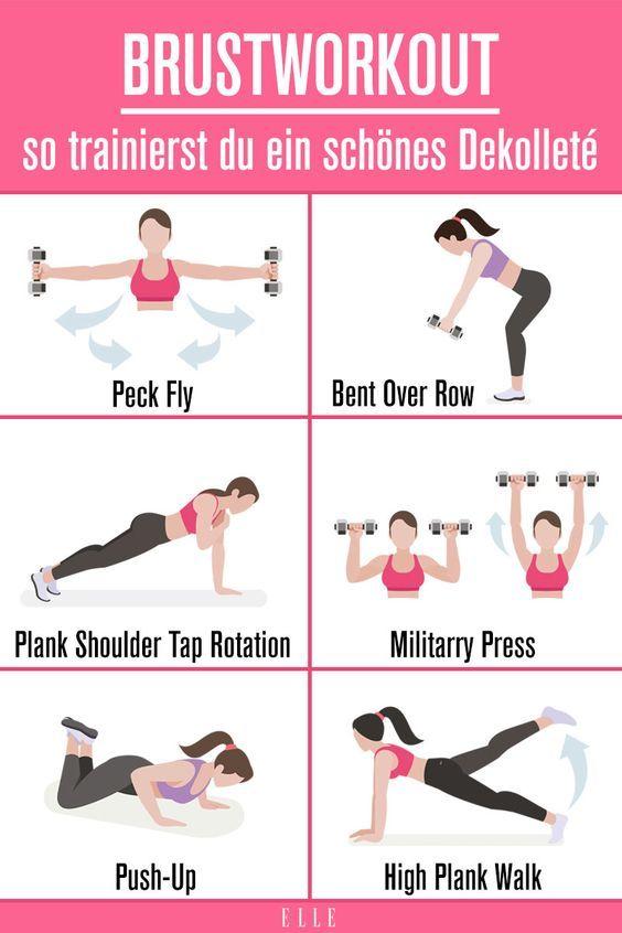Workout für schöne Brüste | ELLE