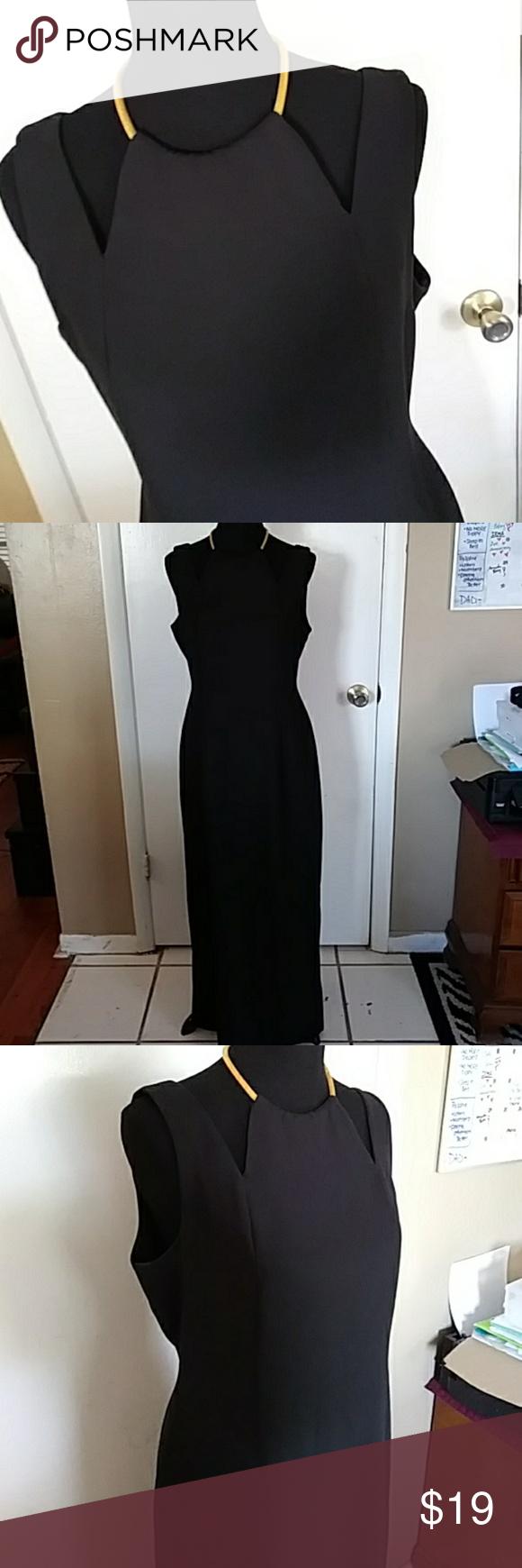Elegant Black Liz Claiborne Gown Dress Size 12 Liz Claiborne Dresses Gowns Dresses Clothes Design [ 1740 x 580 Pixel ]