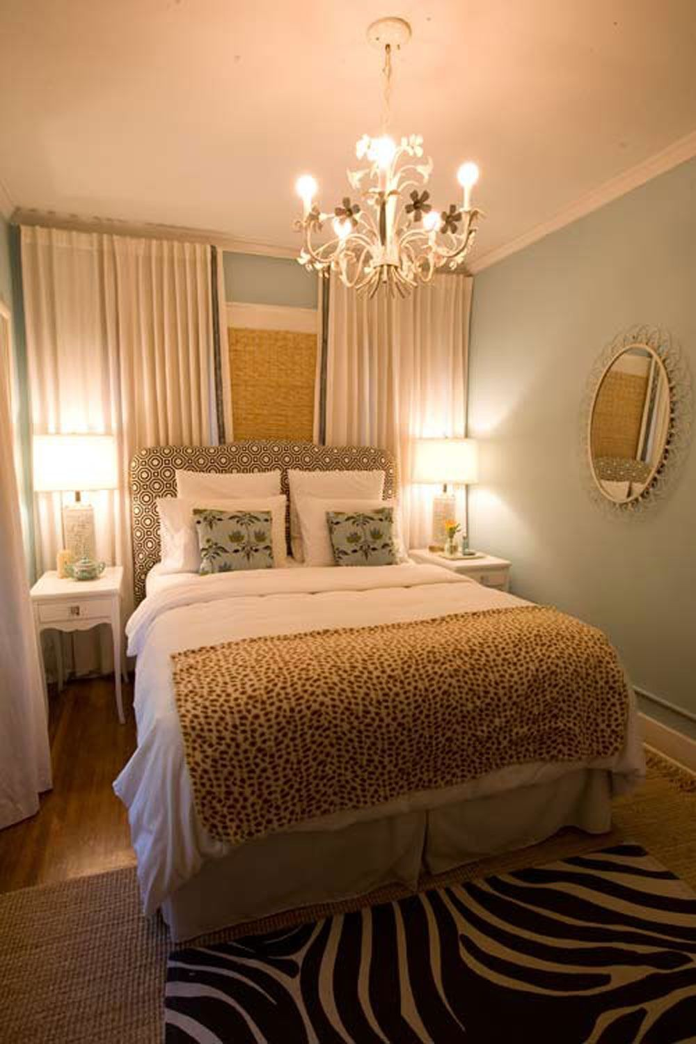 Design Tips For Decorating A Small Bedroom On A Budget Very Small Bedroom Small Master Bedroom Small Master Bedroom Decorating Ideas