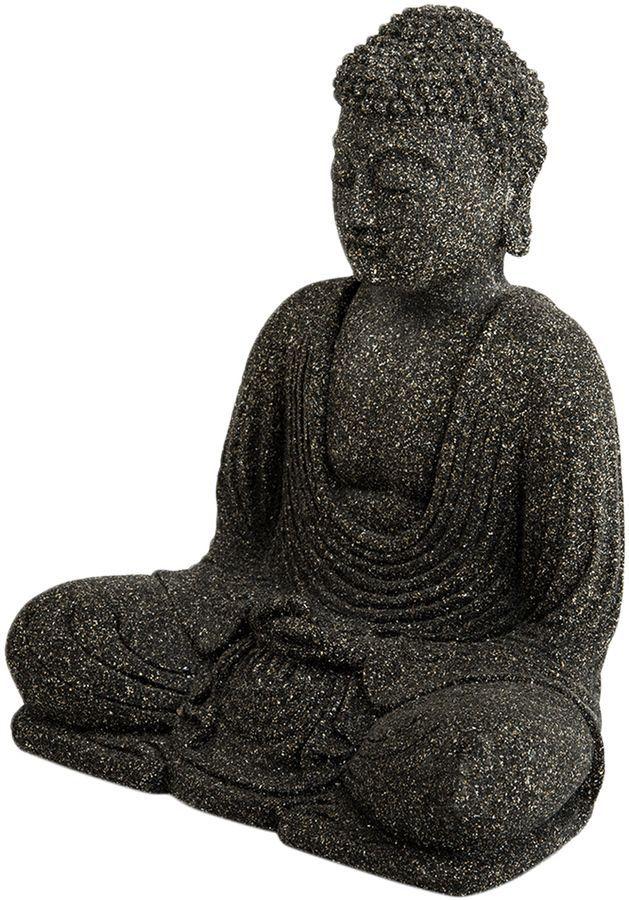 MY SPIRIT GARDEN Volcanic Ash Peaceful Buddha Sculpture