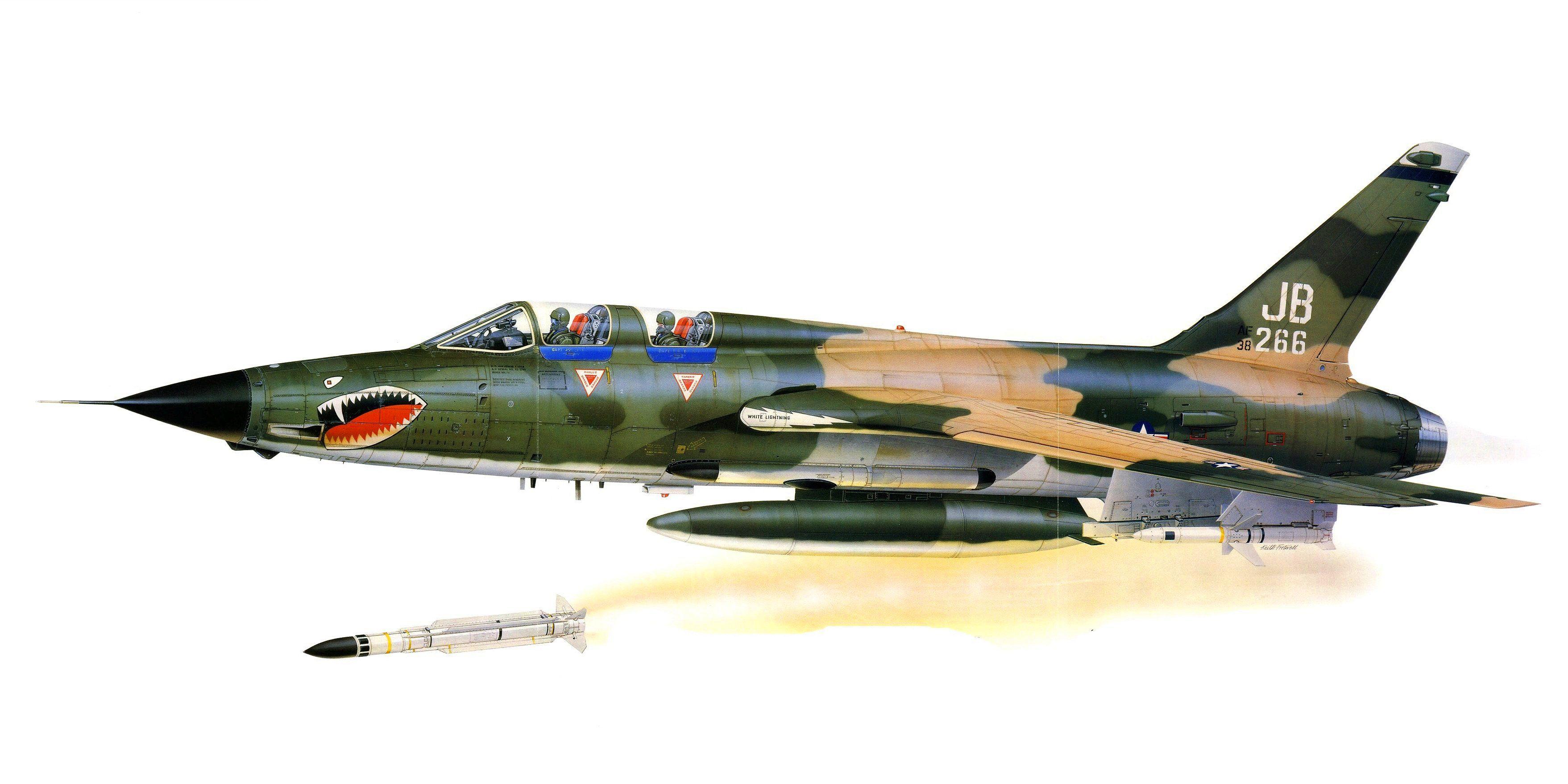 F 105g thunderchief keith fretwell military aviation art f 105g thunderchief keith fretwell fandeluxe Gallery