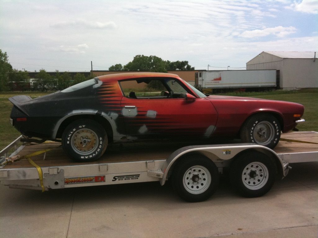 1970 chevrolet camaro project car for sale