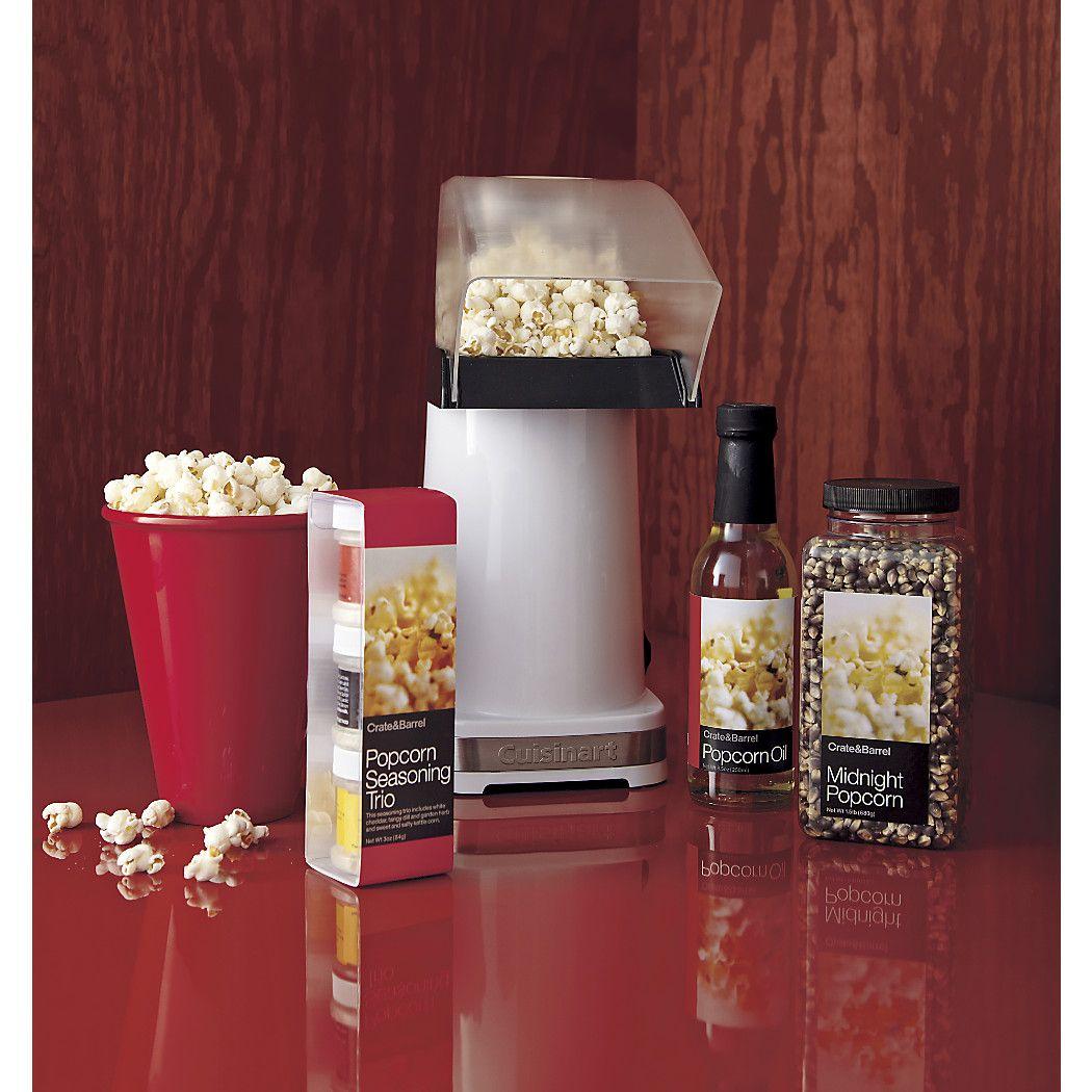 Cuisinart Hot Air Popcorn Maker + Reviews Crate and