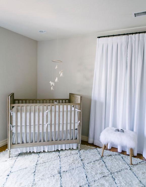 Nursery With Caddy Corner Crib   Transitional   Nursery