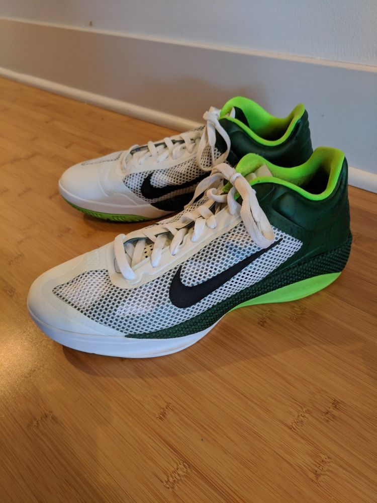wholesale dealer 671a5 b405c 2010 Nike Hyperfuse Basketball Shoe Size 12 White Neon Green Barely Worn   fashion  clothing  shoes  accessories  mensshoes  athleticshoes (ebay link)