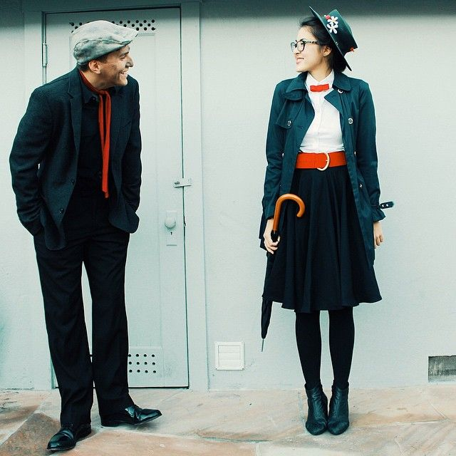 Pin for Later 50+ Adorable Disney Couples Costumes Mary Poppins and Bert  sc 1 st  Pinterest & 50+ Adorable Disney Couples Costumes | Disney couple costumes ...
