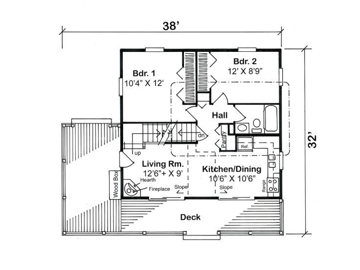 Plan 047h 0036 Cottage House Plans House Plans Cabin House Plans