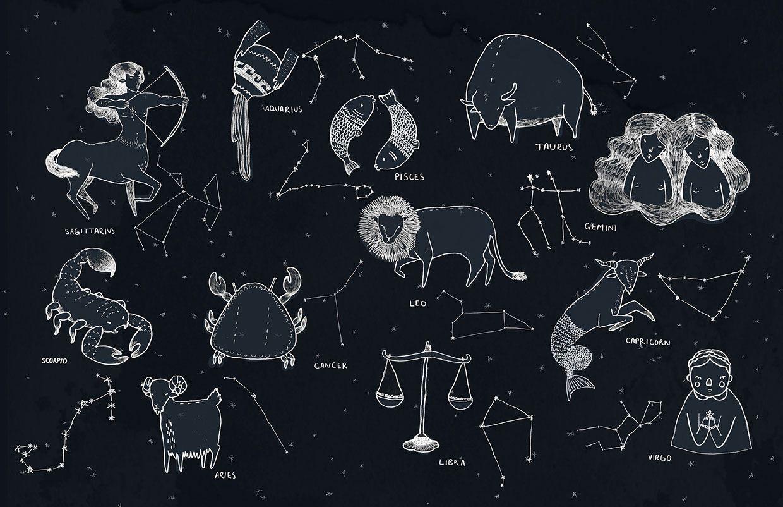 Созвездия гороскопа картинки
