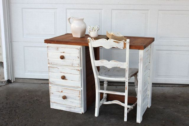 shabby chic desk furniture