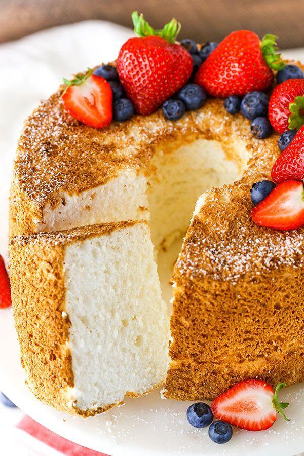 Best Angel Food Cake Recipe In 2020 Angel Food Cake
