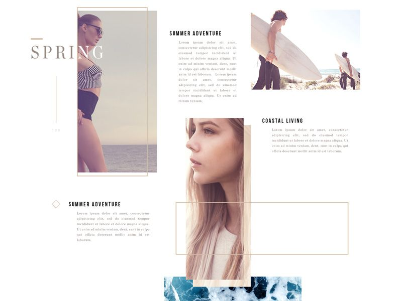 Converse2015 Online Web Design Print Layout Brand Inspiration Board