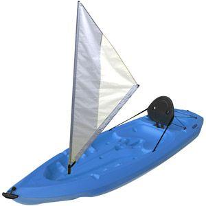 Lifetime Monterey Kayak With Sail Blue Kayaking Inflatable Kayak Angler Kayak