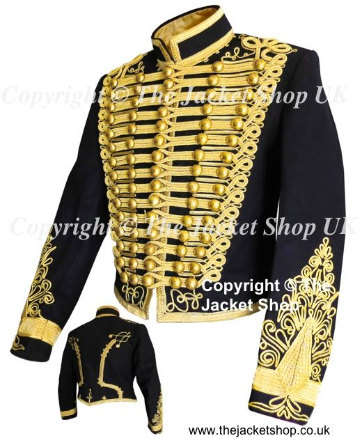 This is a superb replication of the Hussars Military Jacket that was worn  by Adam Ant