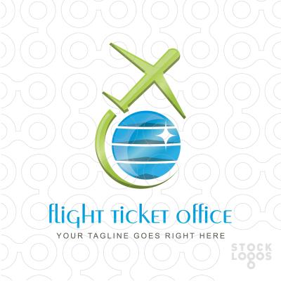 Flight Ticket Office logo by Serdal Sert