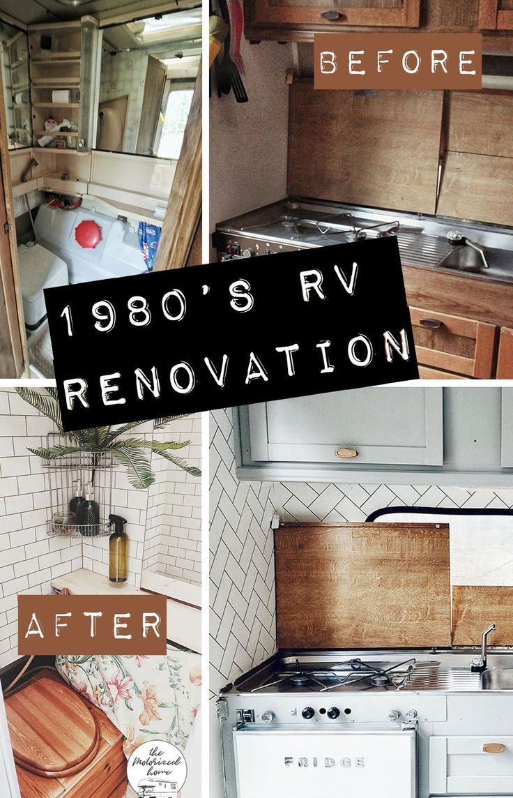 Our rv reno before after photos the motorized home