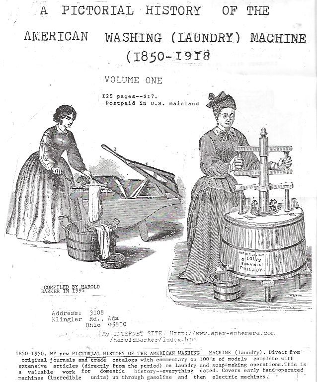 Laundry 1860 58 My Pictorial History Of The American