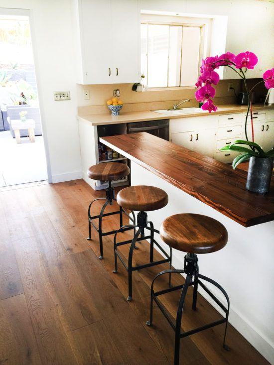 Diy Pony Wall Kitchen Bar Modern Kitchen Bar Small Kitchen Bar Kitchen Bar