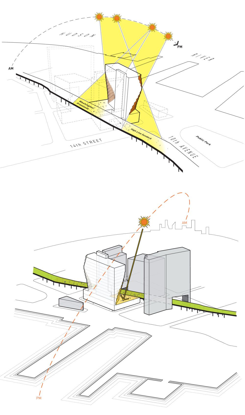 Solar Carve Tower By Studio Gang Architects In New York United States Architecture Concept Diagram Diagram Architecture Concept Architecture