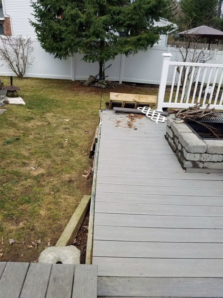 Perspective How To Build A Safe Fire Pit On Wood Deck