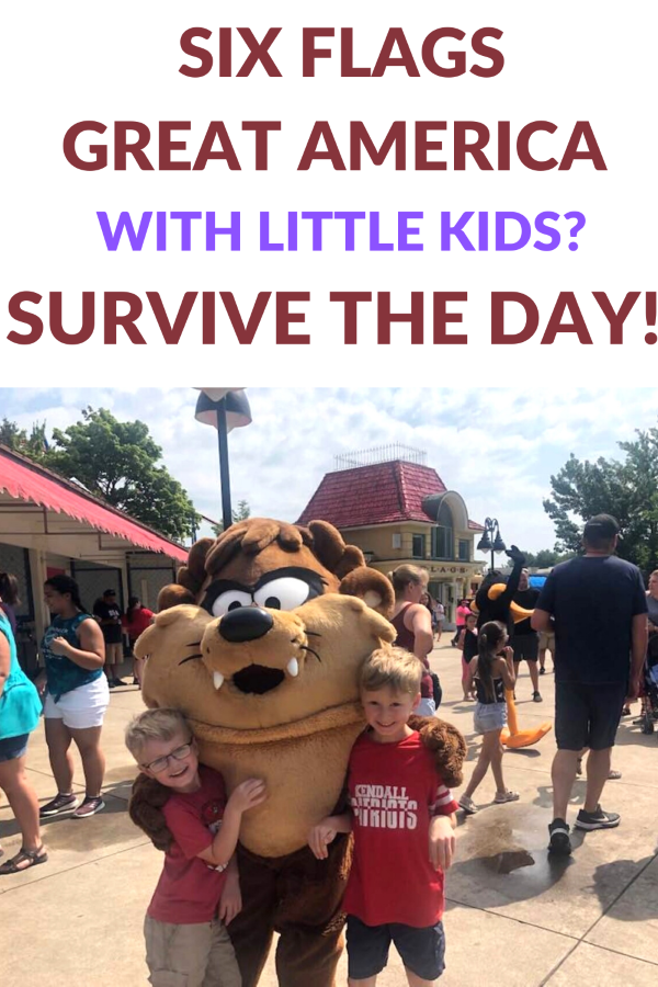 Six Flags Great America With Little Kids Great America Six Flags America Theme