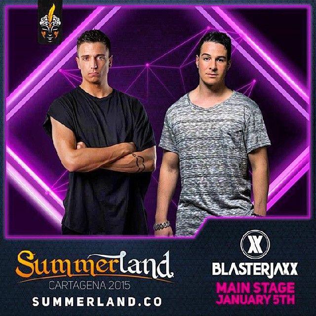 BlasterJaxx Dj Confirmado Summerland 2015