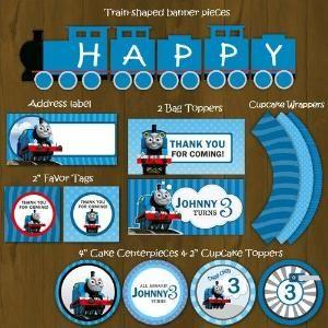 Free Printable Train Invitations Thomas the Train Printable