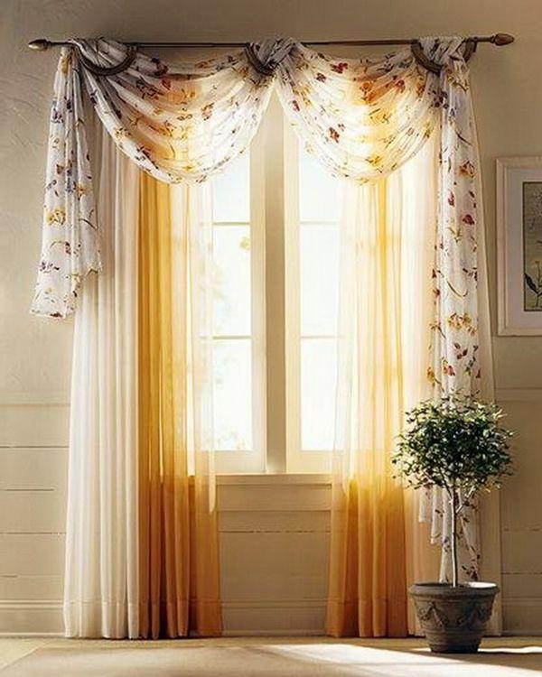 wohnzimmer passende gardinen hellgelb bilder | home | pinterest, Hause ideen