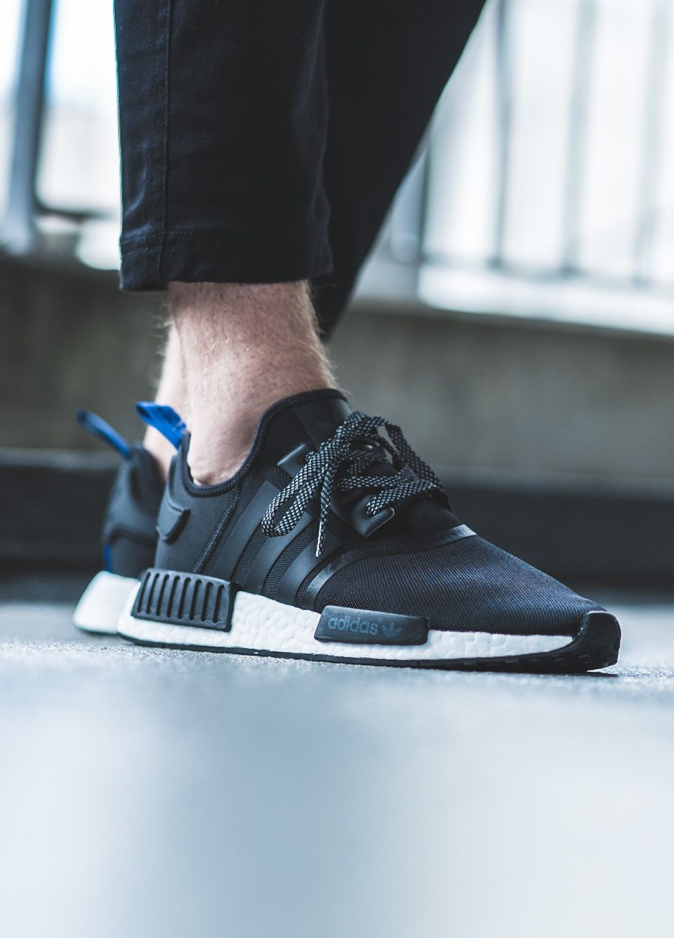 adidas NMD_R1 'black blue' | Shoes in 2019 | Adidas nmd