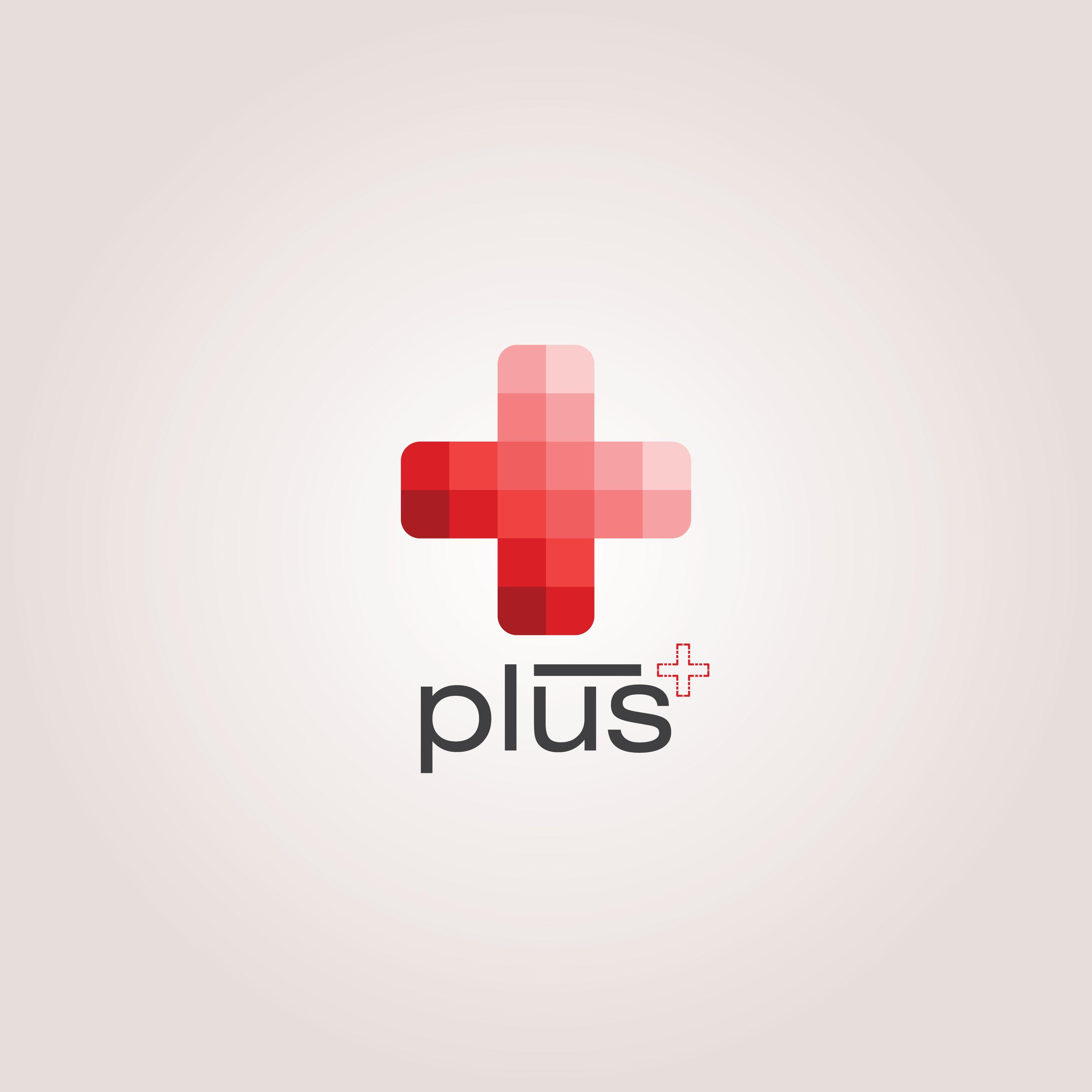 Red Monochromatic Color Plus Vector Logo Design Plus Eps Svg Dxf Jpg Png Red Cross Logo Logo Design Vector Logo