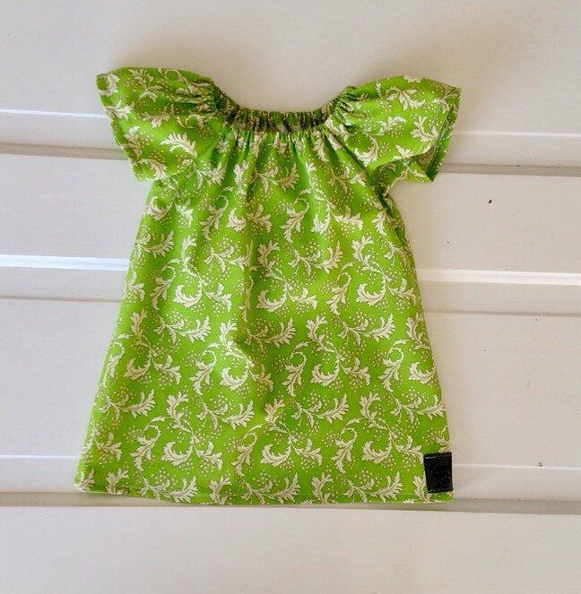 6391d3701 Baby girl Easter dress- baby peasant dress- baby easter outfit ...