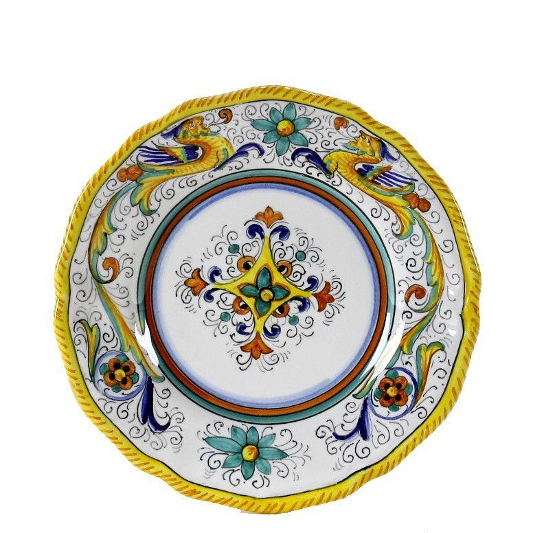 RAFFAELLESCO: Dessert Bread Plate (7D)