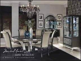 Old Hollywood Glamour Furniture Glam Style Decor