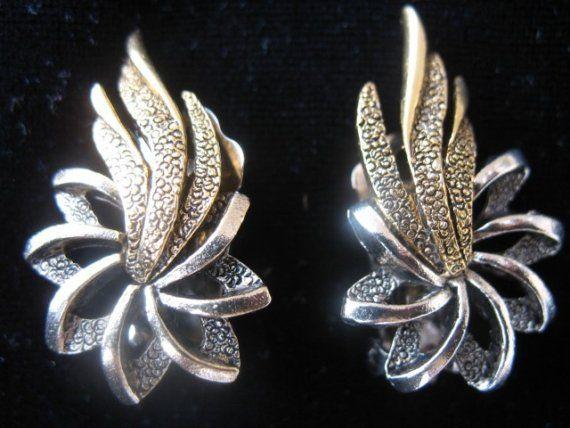 Shooting Star Vintage Earrings by Kinsmade on Etsy